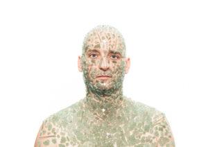 autoportrait securit Je suis un support Fabrice Leroux
